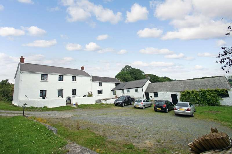 7 Bedrooms Farm House Character Property for sale in Llangain, Carmarthen, Carmarthenshire, SA33