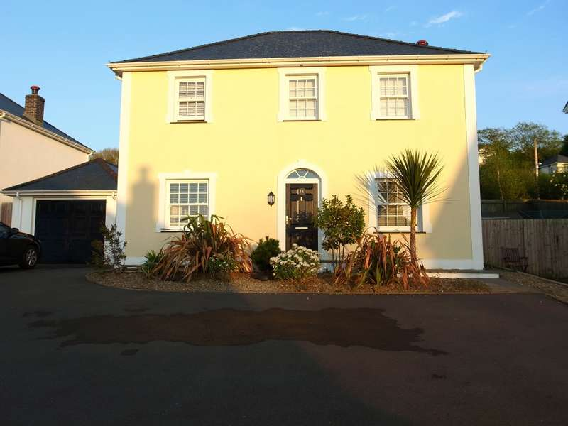 4 Bedrooms Detached House for sale in Stad Craig Ddu, Llanon, Ceredigion, SY23