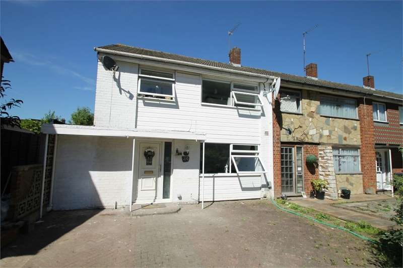 3 Bedrooms End Of Terrace House for sale in Hydefield Close, N21