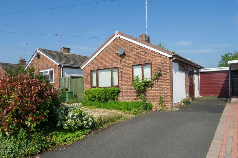 2 Bedrooms Detached Bungalow for sale in Laurel Close, Drakes Broughton, Pershore, Worcestershire
