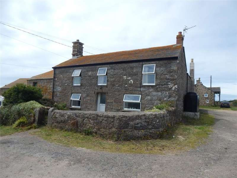 5 Bedrooms Semi Detached House for sale in Trengothal Farm, St. Levan, Penzance