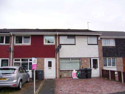 3 Bedrooms Terraced House for sale in Wincanton Croft, Birmingham, West Midlands
