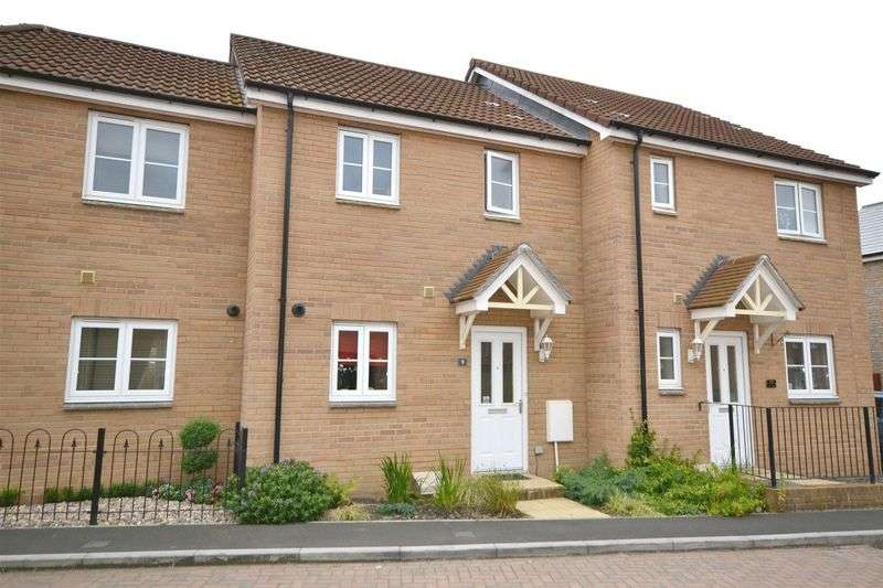 2 Bedrooms Terraced House for sale in Vienna Way, Stockmoor, Bridgwater