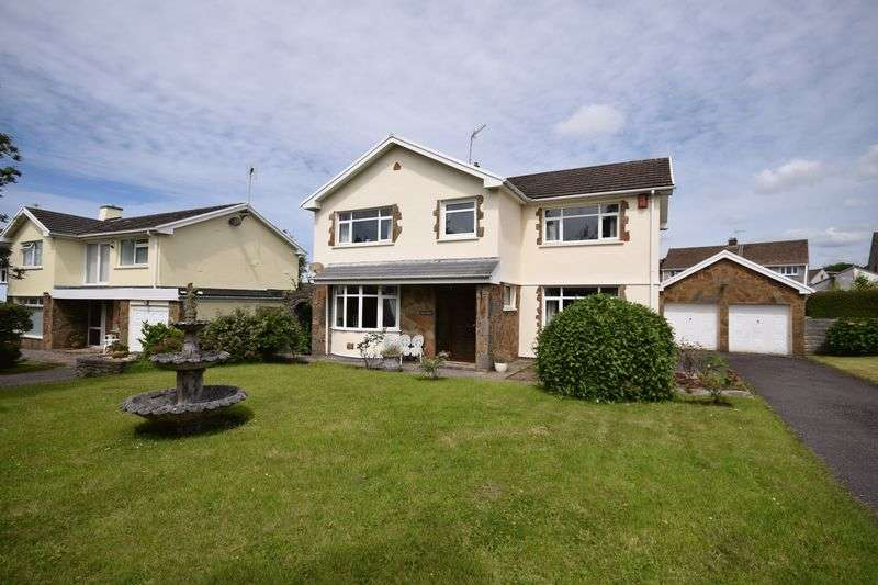 4 Bedrooms Detached House for sale in 2 The Willows, Laleston, Bridgend CF32 0HN