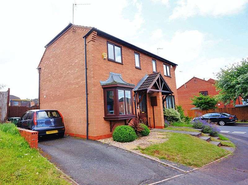 2 Bedrooms Semi Detached House for sale in Robin Court, Kidderminster