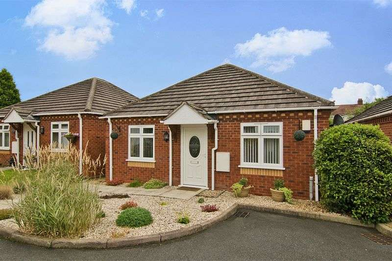 2 Bedrooms Detached Bungalow for sale in Edwards Croft, Cannock