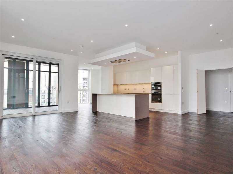 4 Bedrooms Apartment Flat for sale in Pinto Tower, Nine Elms Point, London