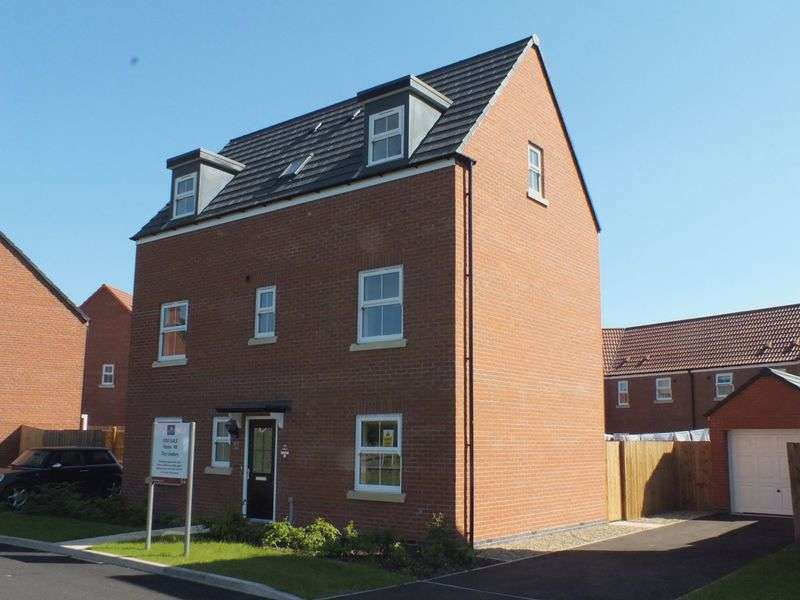4 Bedrooms Detached House for sale in Bell's Yard Close, Horncastle