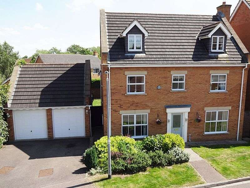 5 Bedrooms Detached House for sale in Moat Farm Close, Marston Moretaine