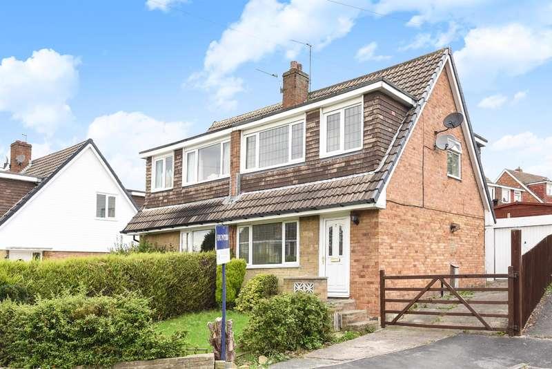 3 Bedrooms Semi Detached House for sale in Greenlea Fold, Yeadon, Leeds, LS19 7JJ