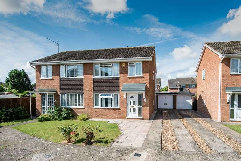 3 Bedrooms Semi Detached House for sale in Birkdale Close, Windmill Hill, Bletchley
