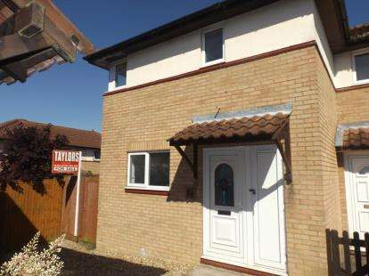 3 Bedrooms Semi Detached House for sale in Cornbury Crescent, Downhead Park, Milton Keynes, Buckinghamshire