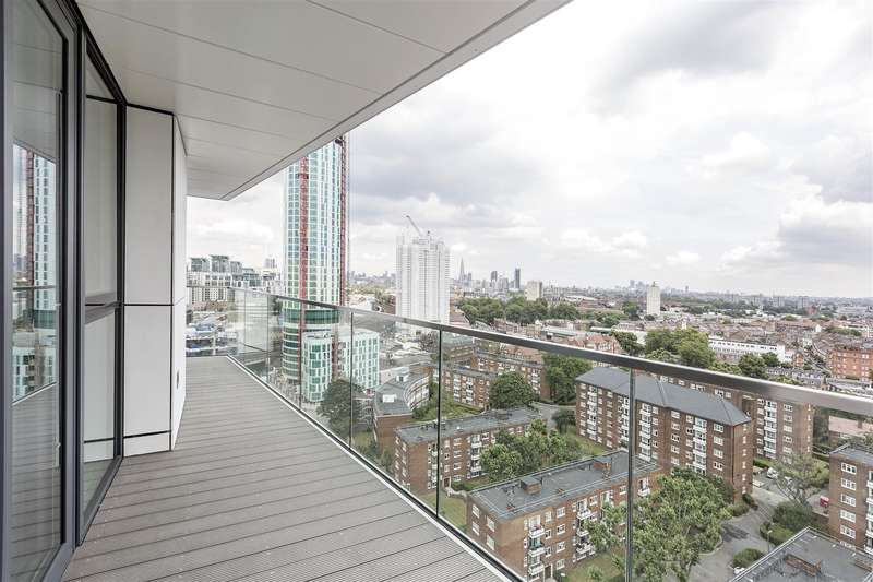 2 Bedrooms Flat for sale in Pinto Tower, Nine Elms Point, London SW8 2LF