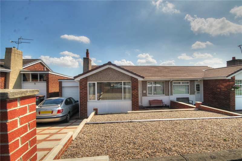 3 Bedrooms Semi Detached Bungalow for sale in Fairisle, Ouston, Chester le Street, DH2