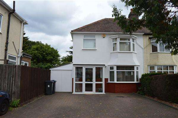 3 Bedrooms Semi Detached House for sale in Kedleston Road, Hall Green, Birmingham