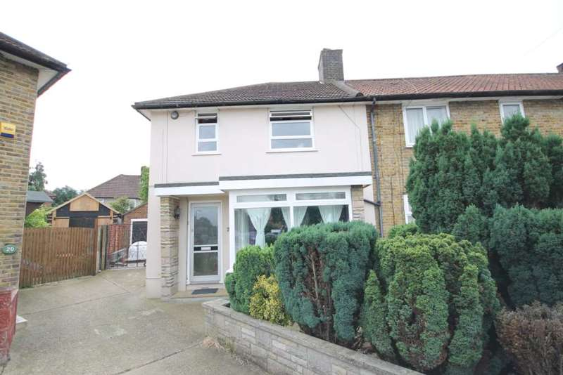 3 Bedrooms End Of Terrace House for sale in Missenden Gardens, Morden