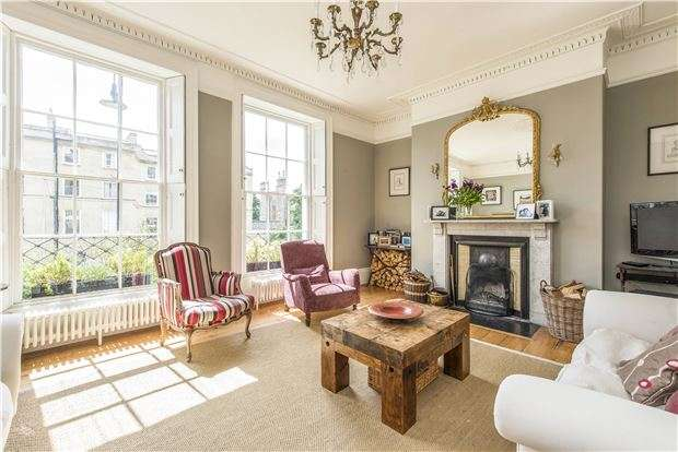 3 Bedrooms Terraced House for sale in Worcester Terrace, BATH, Somerset, BA1