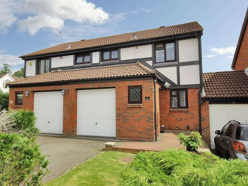 3 Bedrooms Semi Detached House for sale in Thorndyke Close, Maidenbower, Crawley, West Sussex
