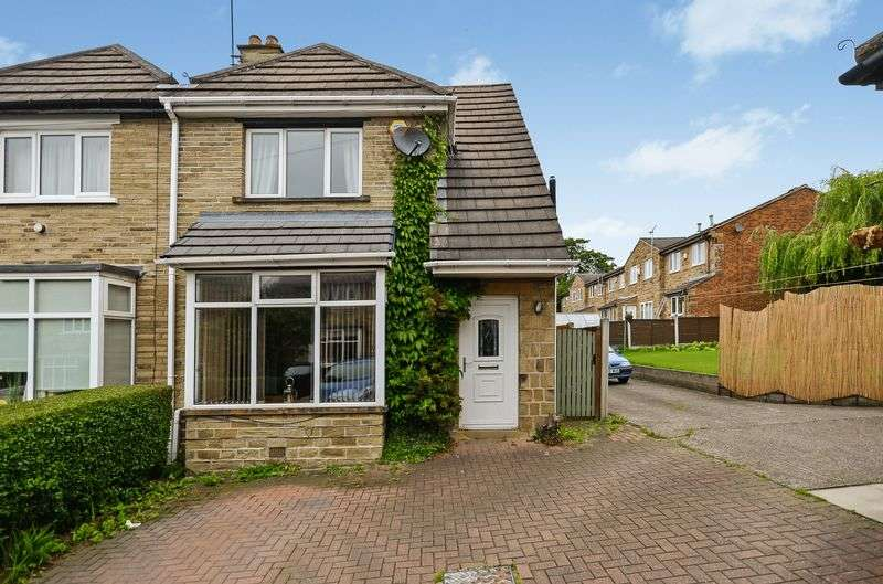 3 Bedrooms Semi Detached House for sale in Fairfield Crescent, Dewsbury, WF13