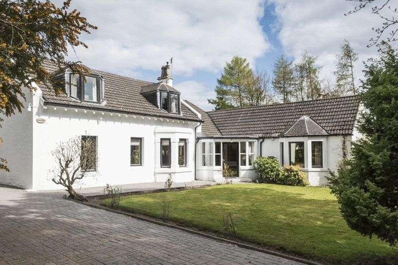 5 Bedrooms Detached House for sale in Rowandale, Glen Road, Torwood, Larbert, FK5 4SN