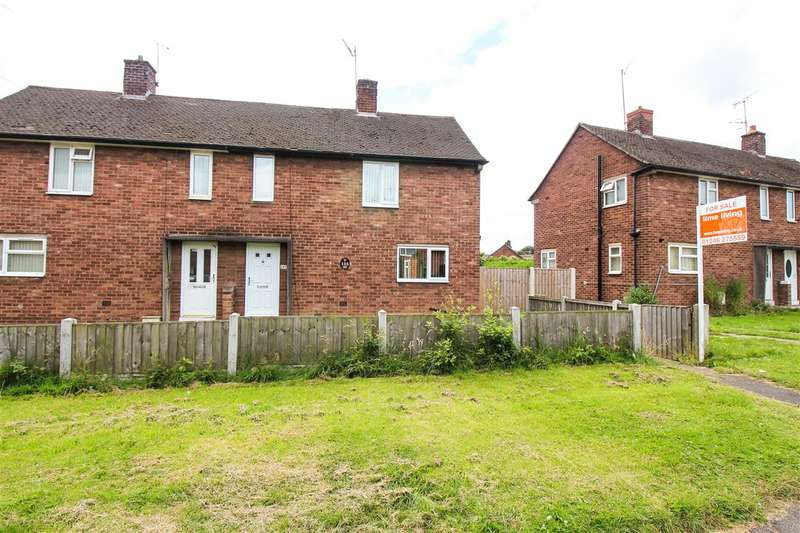 2 Bedrooms Semi Detached House for sale in Ringwood Avenue, Chesterfield