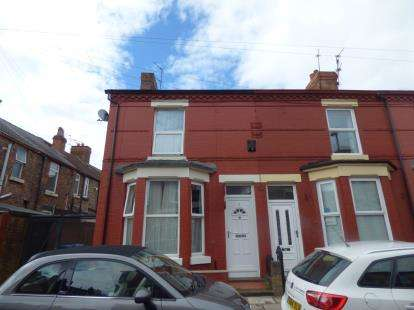 2 Bedrooms Terraced House for sale in Jamieson Road, Liverpool, Merseyside, L15