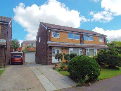 3 Bedrooms Semi Detached House for sale in Farfield Drive, Lower Darwen, Darwen, Lancashire, BB3