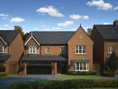 5 Bedrooms Detached House for sale in Myles Standish Way, Chorley, Lancashire, PR7