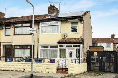 3 Bedrooms End Of Terrace House for sale in Heliers Road, Old Swan, Liverpool, Merseyside, L13