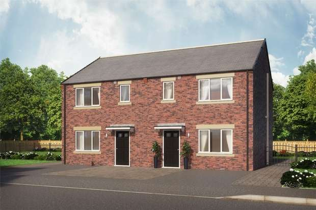 3 Bedrooms Semi Detached House for sale in The Aiden, Eden Field, Newton Aycliffe, Durham