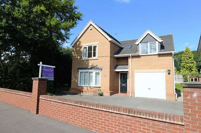 5 Bedrooms Detached House for sale in Appleton Drive, Baldwins Gate, Newcastle
