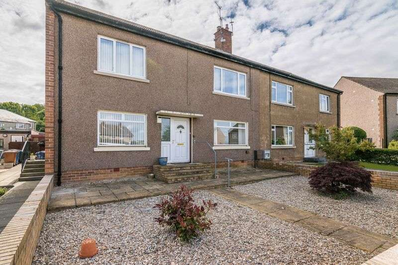 2 Bedrooms Flat for sale in 15 Park Crescent, Easthouses, Dalkeith, EH22 4EE