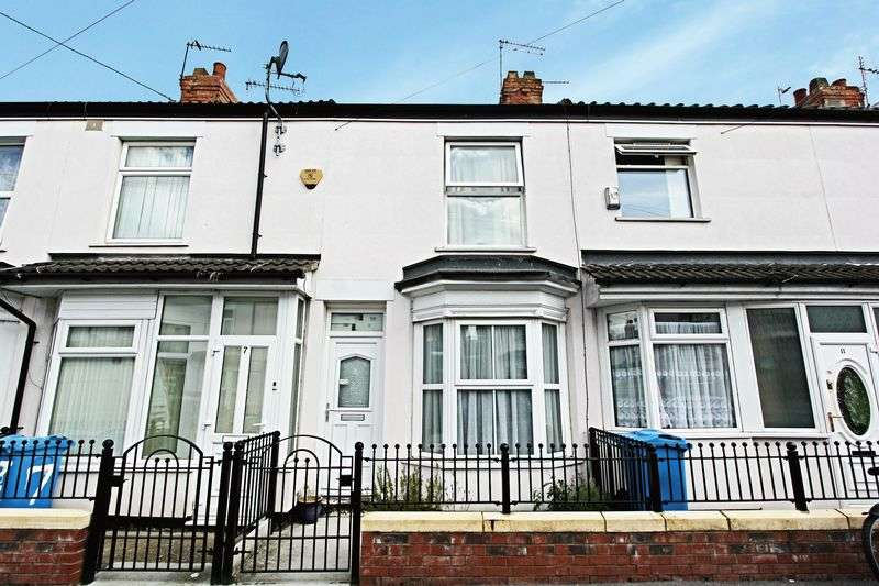 2 Bedrooms House for sale in Aylesford Street, Hull