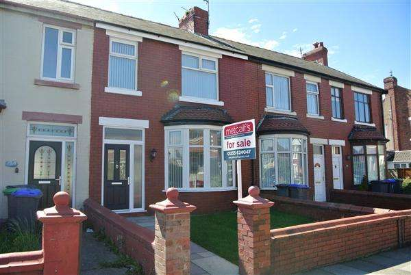 3 Bedrooms Terraced House for sale in Rectory Road, Blackpool