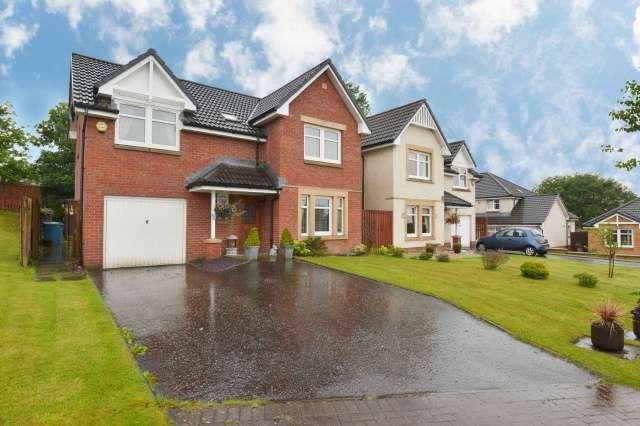 3 Bedrooms Detached House for sale in Burngrange Park, West Calder, West Lothian, EH55 8HF