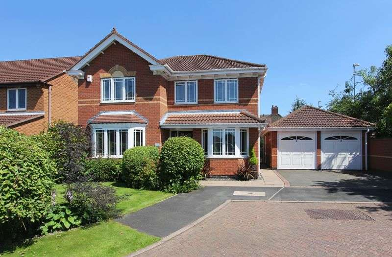 4 Bedrooms Detached House for sale in Naseby Drive, Ashby-De-La-Zouch, Leicestershire, LE65 1LT