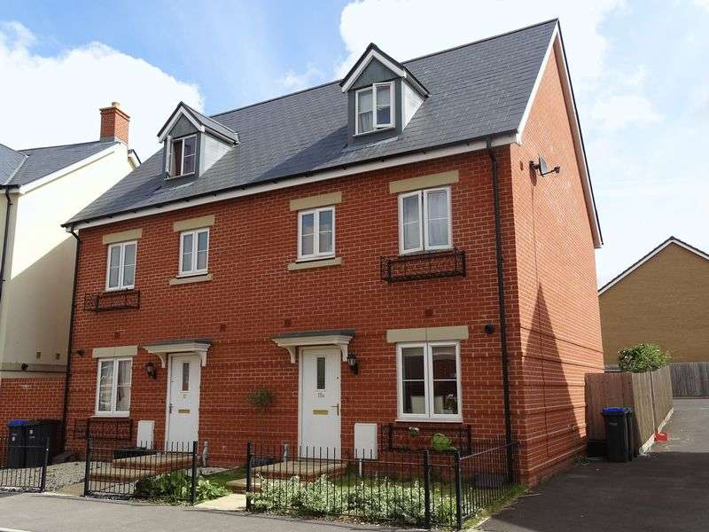 4 Bedrooms Semi Detached House for sale in Sherbourne Drive, Old Sarum