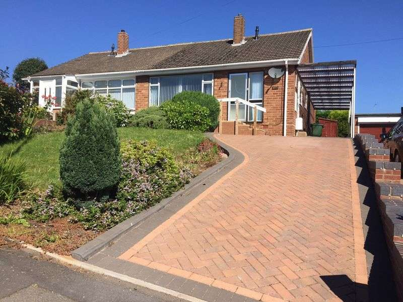 2 Bedrooms Semi Detached Bungalow for sale in Bartic Avenue, Kingswinford