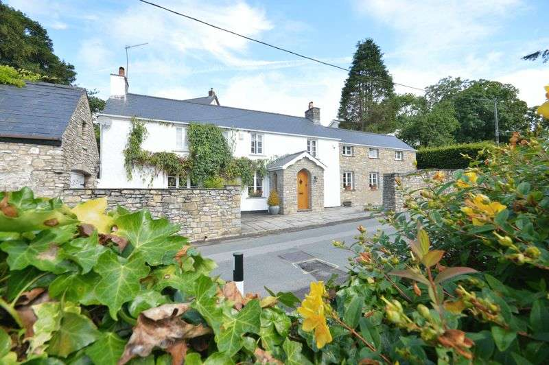 5 Bedrooms Detached House for sale in Broadway House, 86 Broadway, Llanblethian, Cowbridge, Vale of Glamorgan, CF71 7EY
