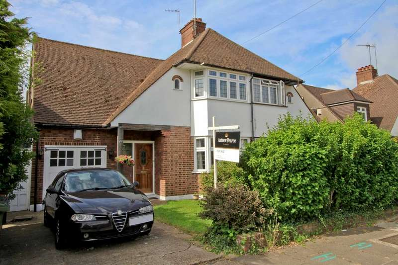 4 Bedrooms Semi Detached House for sale in Whittington Way, Pinner