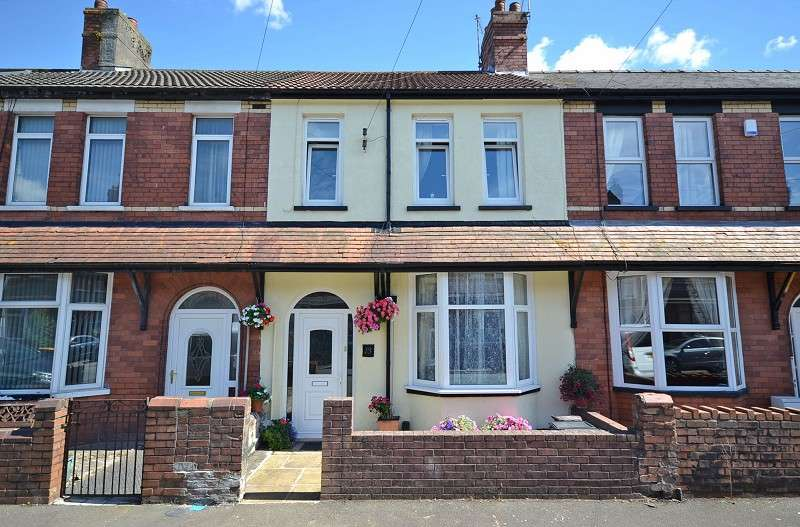 3 Bedrooms Terraced House for sale in Penllyn Avenue, Newport, Gwent. NP20 4JG