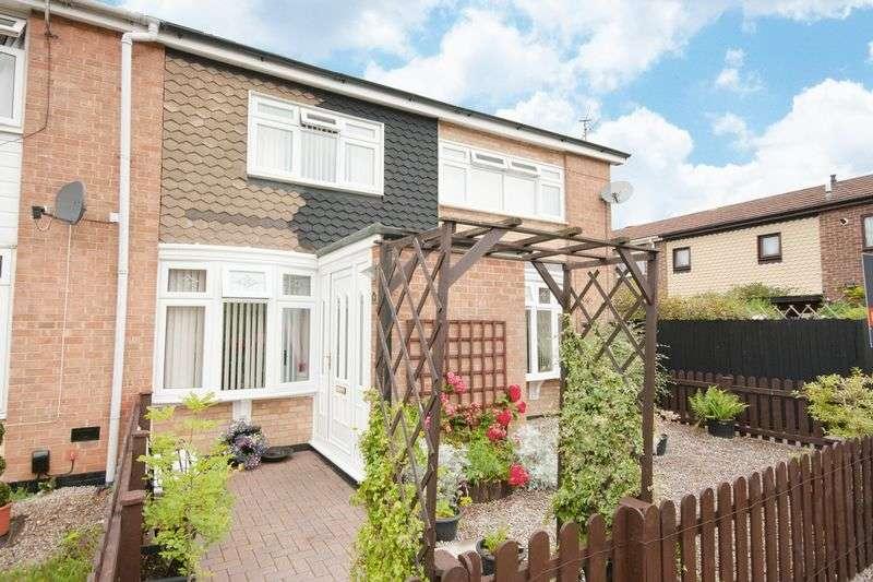 2 Bedrooms Semi Detached House for sale in Scargill, Darlington, DL1 4UL