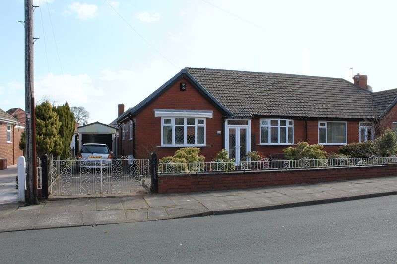2 Bedrooms Semi Detached Bungalow for sale in Ina Avenue, Heaton, BL1. 2 Bed Semi Bungalow, Conservatory