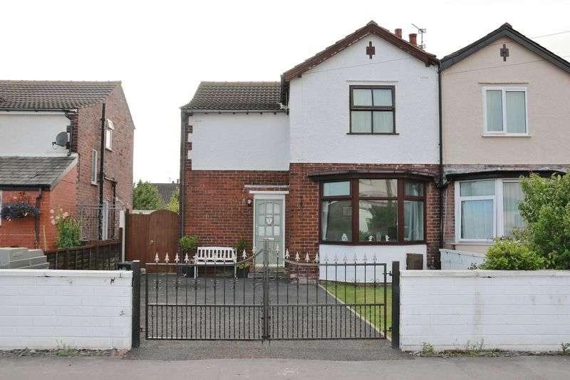 3 Bedrooms Semi Detached House for sale in 16 Barton Avenue, Knott End ON Sea, Lancs FY6 0BW