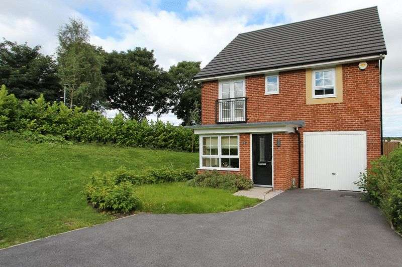 4 Bedrooms Detached House for sale in Lodge Close, Radcliffe, Manchester