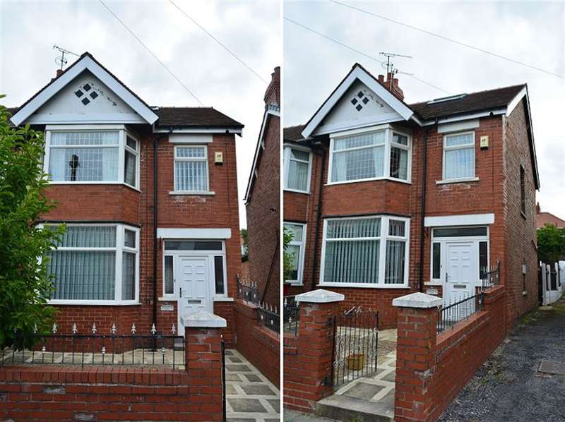 3 Bedrooms Semi Detached House for sale in Lakeway, Stanley Park, Blackpool, FY3 8PF