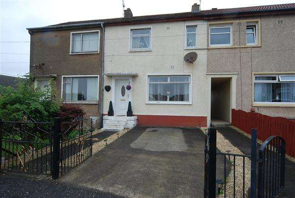 2 Bedrooms Terraced House for sale in Craigs Place, Saltcoats