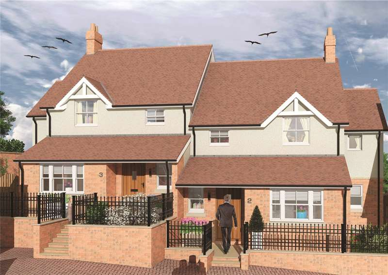 4 Bedrooms Semi Detached House for sale in Portland House (Plot 3), The Sidings, Buckingham, Buckinghamshire, MK18