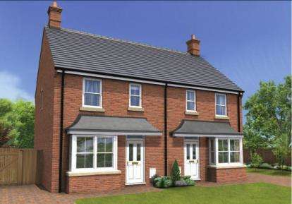 3 Bedrooms Semi Detached House for sale in Parsons Prospect, Eye, Peterborough