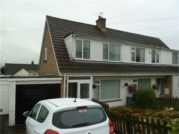 3 Bedrooms Semi Detached House for sale in Wayland Road, Weston-Super-Mare, Somerset